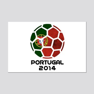 Portugal World Cup 2014 Mini Poster Print