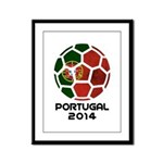 Portugal World Cup 2014 Framed Panel Print