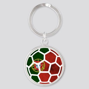 Portugal World Cup 2014 Round Keychain