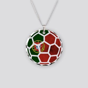 Portugal World Cup 2014 Necklace Circle Charm