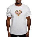 Ghana World Cup 2014 Heart Light T-Shirt