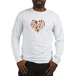 Ghana World Cup 2014 Heart Long Sleeve T-Shirt