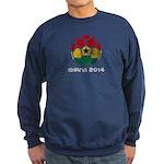Ghana World Cup 2014 Sweatshirt (dark)