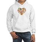 Ghana World Cup 2014 Heart Hooded Sweatshirt