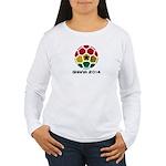 Ghana World Cup 2014 Women's Long Sleeve T-Shirt