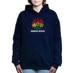 Ghana World Cup 2014 Women's Hooded Sweatshirt