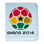 Ghana World Cup 2014 baby blanket