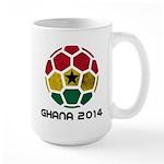 Ghana World Cup 2014 Large Mug