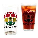 Ghana World Cup 2014 Drinking Glass