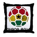 Ghana World Cup 2014 Throw Pillow