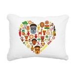 Ghana World Cup 2014 Hea Rectangular Canvas Pillow