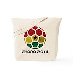 Ghana World Cup 2014 Tote Bag