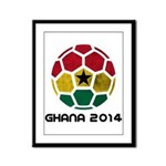 Ghana World Cup 2014 Framed Panel Print
