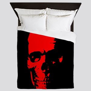 Red Skull Queen Duvet
