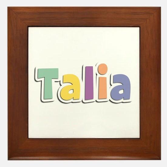 Talia Spring14 Framed Tile