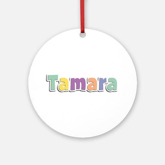 Tamara Spring14 Round Ornament