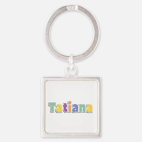 Tatiana Spring14 Square Keychain