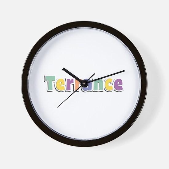 Terrance Spring14 Wall Clock