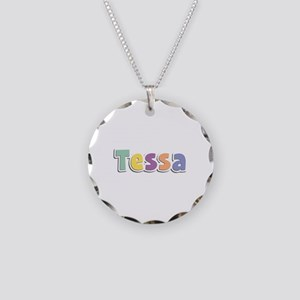 Tessa Spring14 Necklace Circle Charm