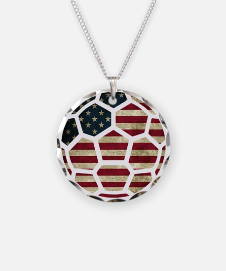 USA World Cup 2014 Necklace