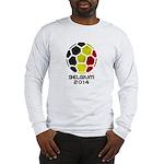 Belgium World Cup 2014 Long Sleeve T-Shirt