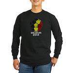 Belgium World Cup 2014 Long Sleeve Dark T-Shirt