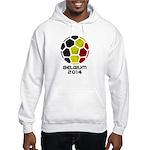 Belgium World Cup 2014 Hooded Sweatshirt