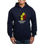 Belgium World Cup 2014 Hoodie (dark)