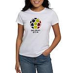 Belgium World Cup 2014 Women's T-Shirt