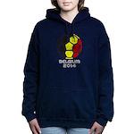 Belgium World Cup 2014 Women's Hooded Sweatshirt