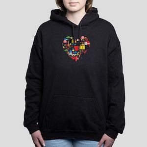 Belgium World Cup 2014 H Women's Hooded Sweatshirt