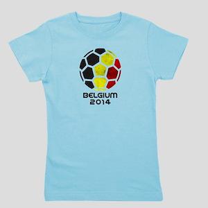Belgium World Cup 2014 Girl's Tee