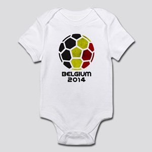 Belgium World Cup 2014 Infant Bodysuit