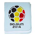 Belgium World Cup 2014 baby blanket