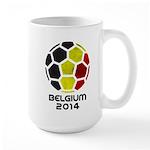Belgium World Cup 2014 Large Mug