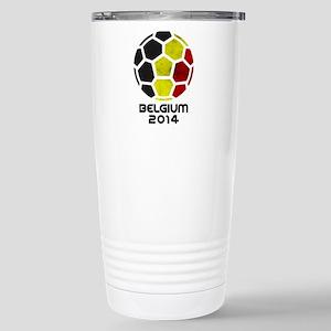 Belgium World Cup 2014 Stainless Steel Travel Mug