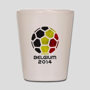 Belgium World Cup 2014 Shot Glass