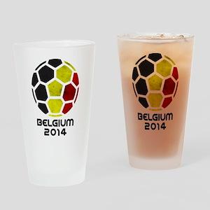 Belgium World Cup 2014 Drinking Glass