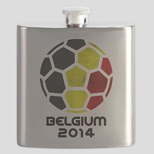 Belgium World Cup 2014 Flask