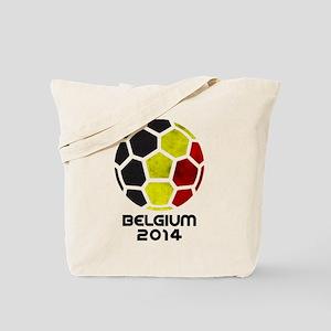 Belgium World Cup 2014 Tote Bag