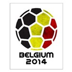 Belgium World Cup 2014 Small Poster