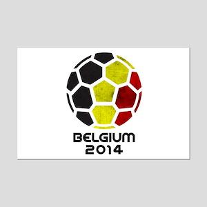 Belgium World Cup 2014 Mini Poster Print