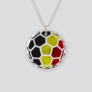 Belgium World Cup 2014 Necklace Circle Charm