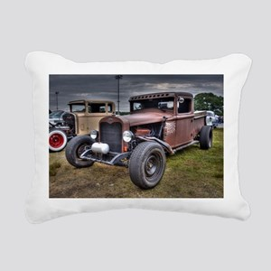 Rat Rod Rectangular Canvas Pillow