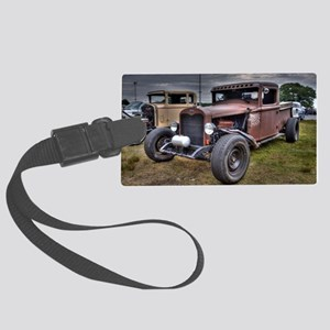 Rat Rod Large Luggage Tag