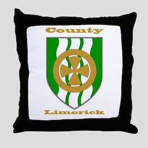 County Limerick COA Throw Pillow