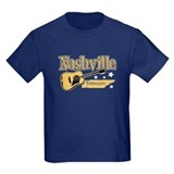 Nashville guitar Kids T-shirts (Dark)