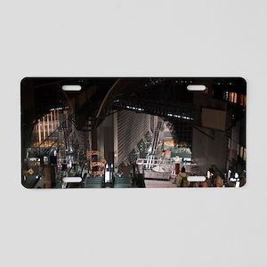 kyoto train station Aluminum License Plate