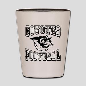 Coyotes Football Shot Glass