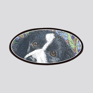 Forget me not Border Collie Patches